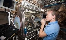 Expériences à bord de l'ISS