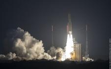Décollage d'Ariane 5 VA235 le 14/02/2017 au CSG