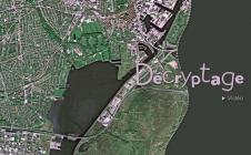 Copenhague vu de l'espace