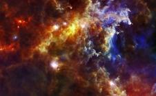 Couvée d'étoiles dans la Licorne