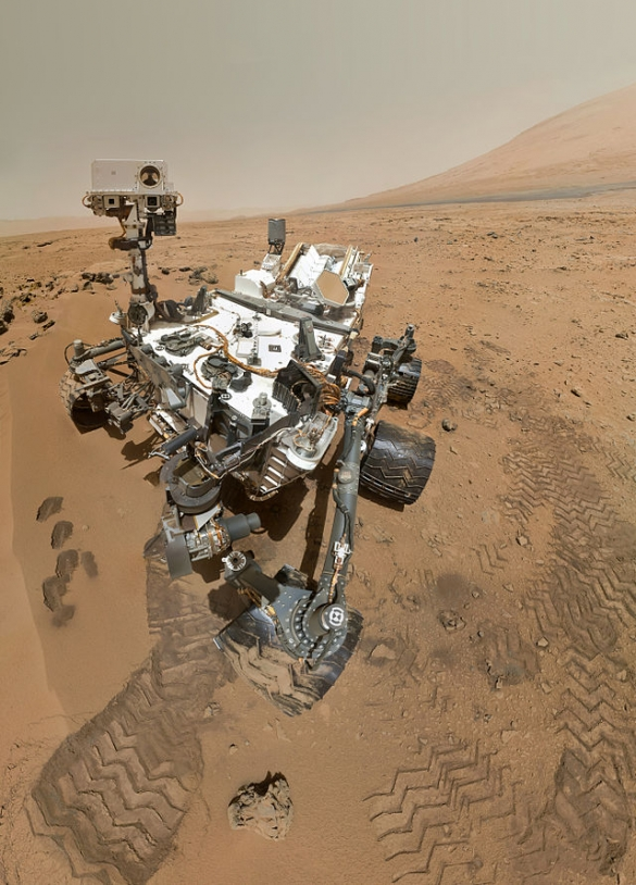 Réparation de Curiosity à 350 millions de km de la Terre