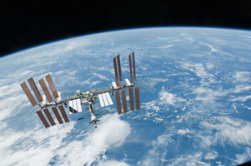 Vue de la Station Spatiale International